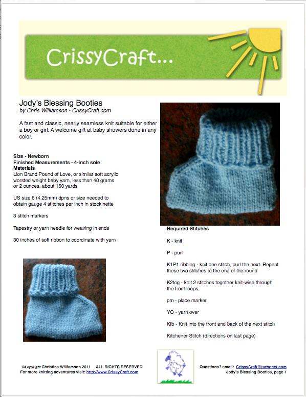 Jody's Blessing Booties Preview