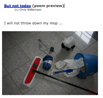 But Not Today Poem Preview picture