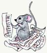 mouse and manuscript image